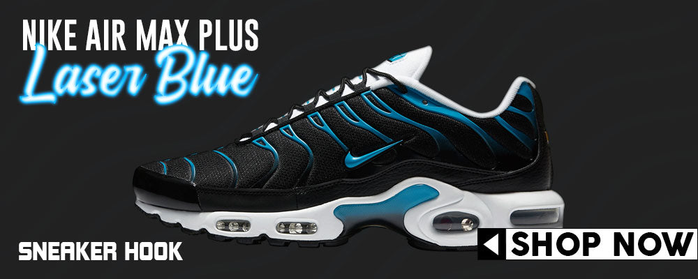 Air Max Plus Black and Laser Blue Clothing to match Sneakers | Clothing to match Nike Air Max Plus Black and Laser Blue Shoes