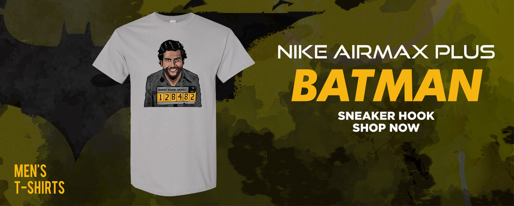Air Max Plus Batman T Shirts to match Sneakers | Tees to match Nike Air Max Plus Batman Shoes