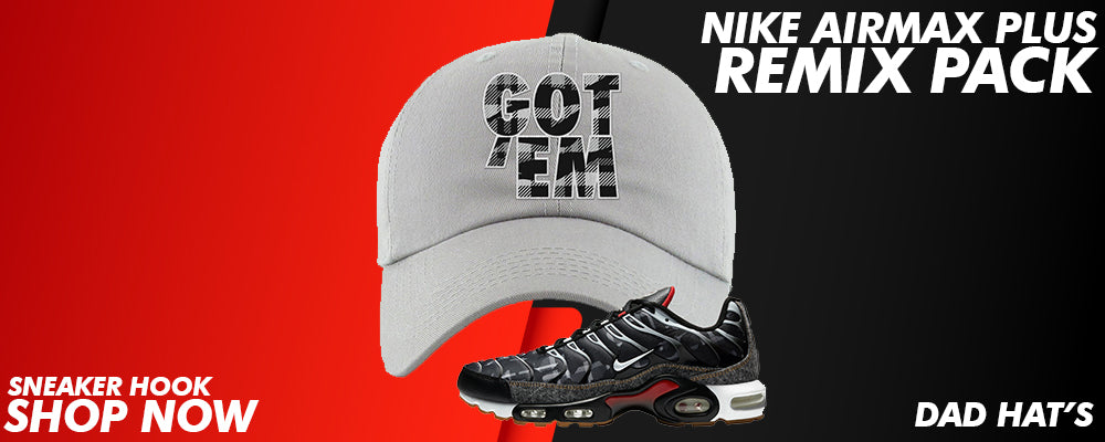 Air Max Plus Remix Pack Dad Hats to match Sneakers | Hats to match Nike Air Max Plus Remix Pack Shoes