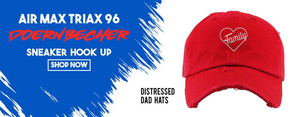 Distressed Dad Hats To Match Nike Air Max Triax 96 Doernbecher 2019 Sneakers