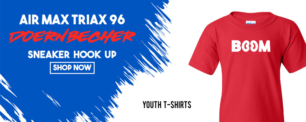 Kid's T-Shirts To Match Nike Air Max Triax 96 Doernbecher 2019 Sneakers