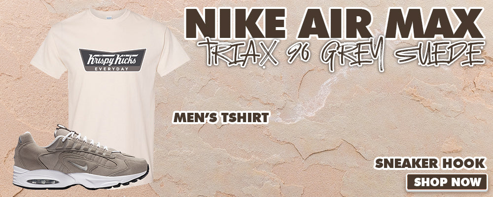 Air Max Triax 96 Grey Suede T Shirts to match Sneakers | Tees to match Nike Air Max Triax 96 Grey Suede Shoes
