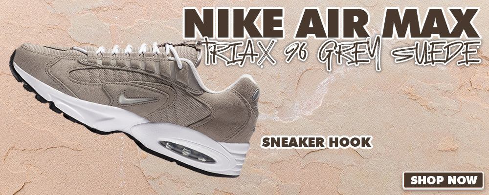Air Max Triax 96 Grey Suede Clothing to match Sneakers | Clothing to match Nike Air Max Triax 96 Grey Suede Shoes