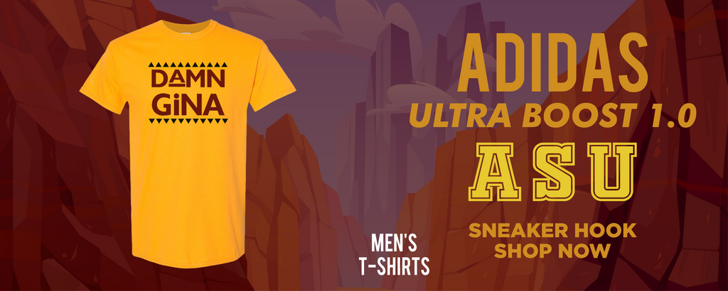 Ultra Boost 1.0 ASU T Shirts to match Sneakers | Tees to match Adidas Ultra Boost 1.0 ASU Shoes