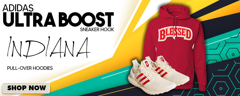 Ultra Boost 1.0 Indiana Pullover Hoodies to match Sneakers | Hoodies to match Adidas Ultra Boost 1.0 Indiana Shoes