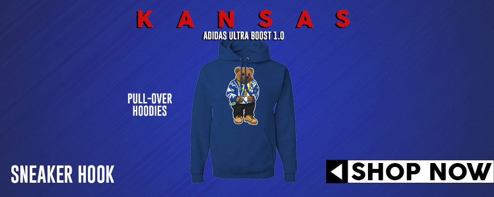Ultra Boost 1.0 Kansas Pullover Hoodies to match Sneakers | Hoodies to match Adidas Ultra Boost 1.0 Kansas Shoes