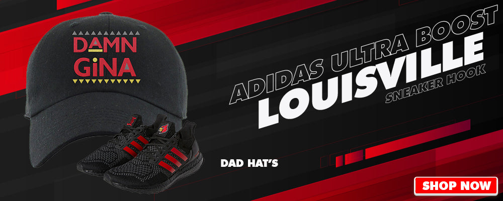 Ultra Boost 1.0 Louisville Dad Hats to match Sneakers | Hats to match Adidas Ultra Boost 1.0 Louisville Shoes