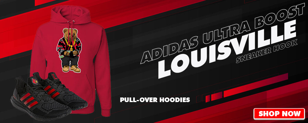Ultra Boost 1.0 Louisville Pullover Hoodies to match Sneakers | Hoodies to match Adidas Ultra Boost 1.0 Louisville Shoes
