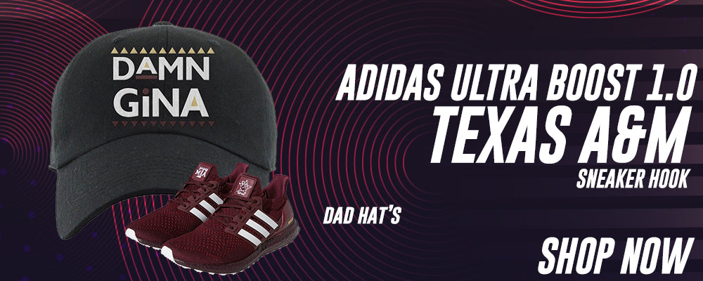 Ultra Boost 1.0 Texas A&M Dad Hats to match Sneakers | Hats to match Adidas Ultra Boost 1.0 Texas A&M Shoes