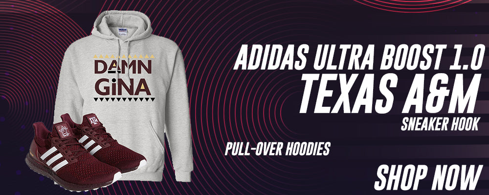 Ultra Boost 1.0 Texas A&M Pullover Hoodies to match Sneakers | Hoodies to match Adidas Ultra Boost 1.0 Texas A&M Shoes