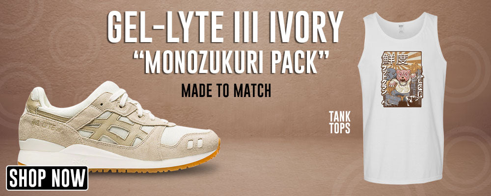 GEL-Lyte III 'Monozukuri Pack' Ivory Tank Tops to match Sneakers | Tanks to match ASICS GEL-Lyte III 'Monozukuri Pack' Ivory Shoes