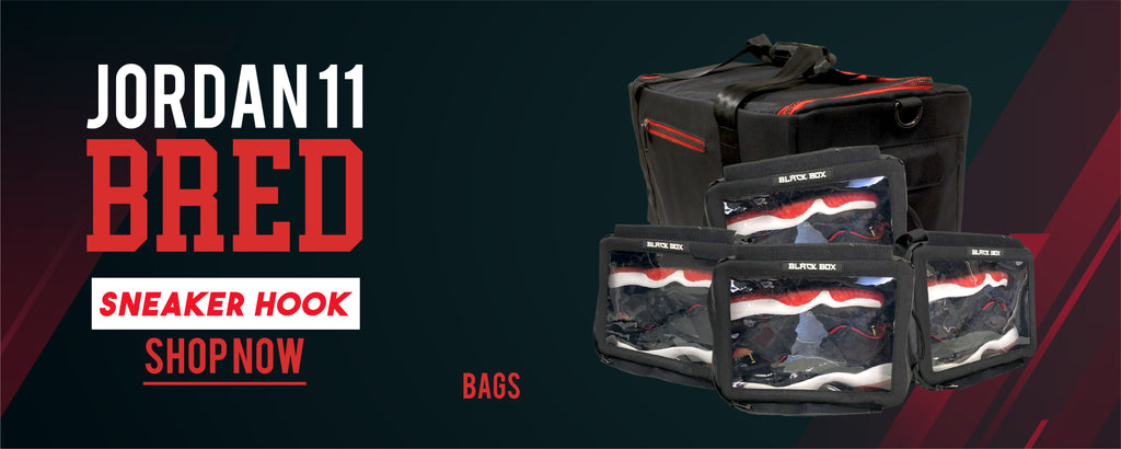 Jordan 11 Bred Sneaker Hook Up Bags