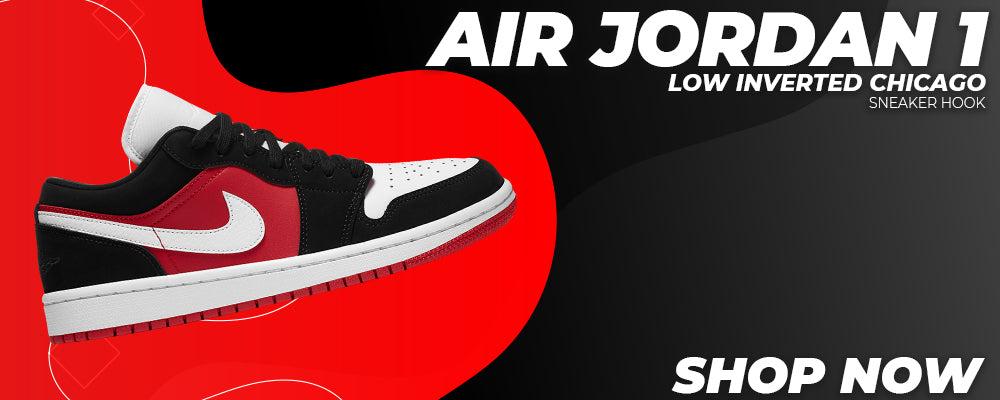 Air Jordan 1 Low Inverted Chicago Clothing to match Sneakers | Clothing to match Nike Air Jordan 1 Low Inverted Chicago Shoes