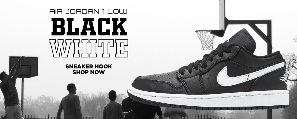 Air Jordan 1 Low Black and White Clothing to match Sneakers   Clothing to match Nike Air Jordan 1 Low Black and White Shoes