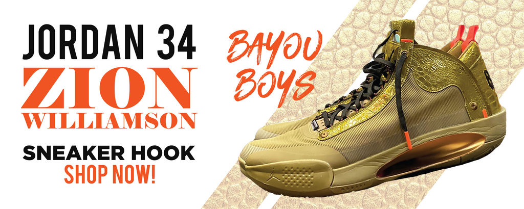 34 x Zion Williamson Bayou Boys PE Clothing to match Sneakers | Clothing to match Jordan 34 x Zion Williamson Bayou Boys PE Shoes