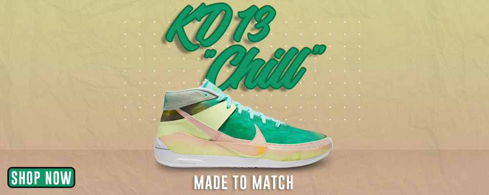 KD 13 Chill Clothing to match Sneakers   Clothing to match Nike KD 13 Chill Shoes