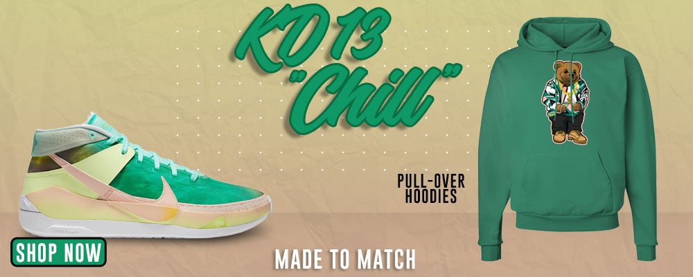 KD 13 Chill Pullover Hoodies to match Sneakers   Hoodies to match Nike KD 13 Chill Shoes