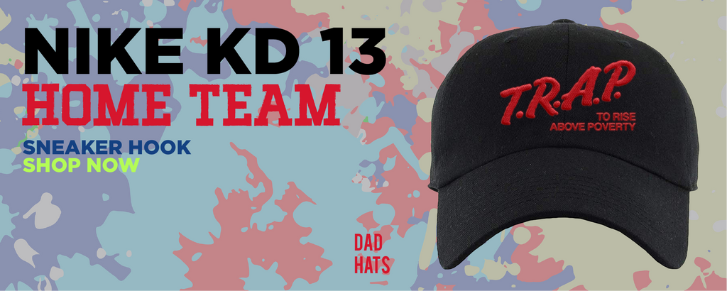 KD 13 Home Dad Hats to match Sneakers | Hats to match Nike KD 13 Home Shoes