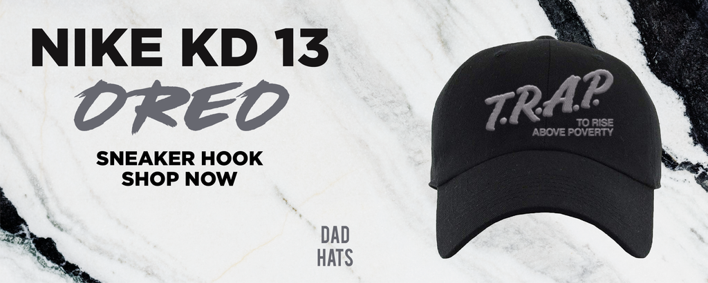 KD 13 Oreo Dad Hats to match Sneakers | Hats to match Nike KD 13 Oreo Shoes