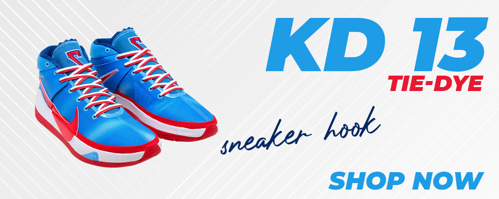 KD 13 Tie-Dye Clothing to match Sneakers | Clothing to match Nike KD 13 Tie-Dye Shoes