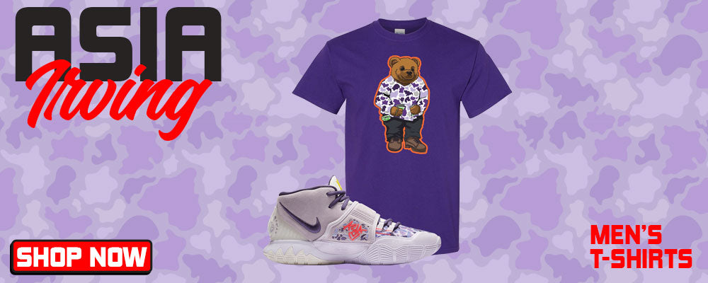 Kyrie 6 Asia Irving T Shirts to match Sneakers | Tees to match Nike Kyrie 6 Asia Irving Shoes