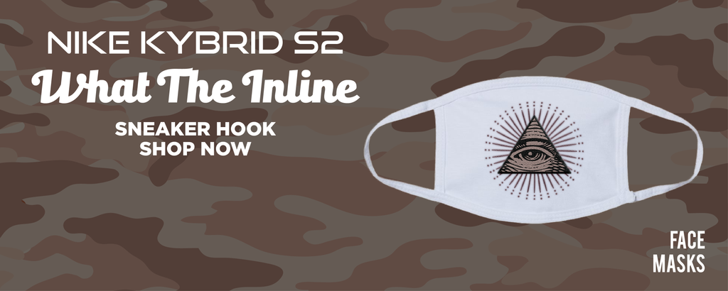 Kybrid S2 What The Inline Face Mask to match Sneakers | Masks to match Nike Kybrid S2 What The Inline Shoes