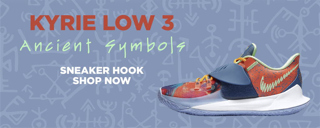 Kyrie Low 3 Ancient Symbols Clothing to match Sneakers | Clothing to match Nike Kyrie Low 3 Ancient Symbols Shoes