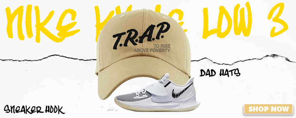 Kyrie Low 3 Dad Hats to match Sneakers | Hats to match Nike Kyrie Low 3 Shoes