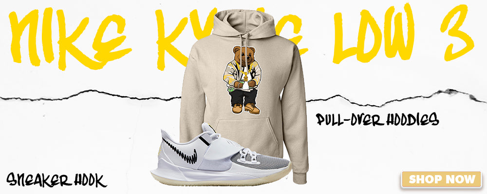 Kyrie Low 3 Pullover Hoodies to match Sneakers | Hoodies to match Nike Kyrie Low 3 Shoes