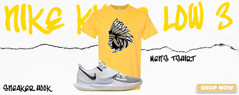 Kyrie Low 3 T Shirts to match Sneakers | Tees to match Nike Kyrie Low 3 Shoes