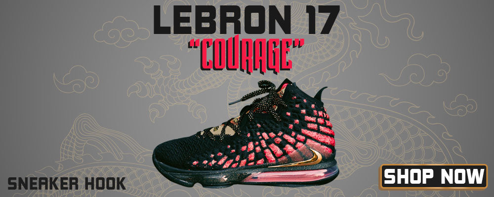 LeBron 17 'Courage' Clothing to match Sneakers | Clothing to match Nike LeBron 17 'Courage' Shoes