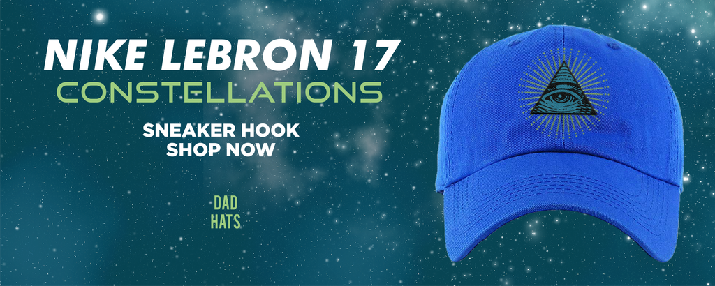 LeBron 17 Constellations Dad Hats to match Sneakers | Hats to match Nike LeBron 17 Constellations Shoes
