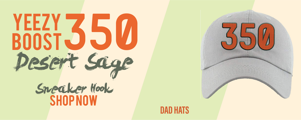 Yeezy Boost 350 V2 Desert Sage Dad Hats to match Sneakers | Hats to match Adidas Yeezy Boost 350 V2 Desert Sage Shoes