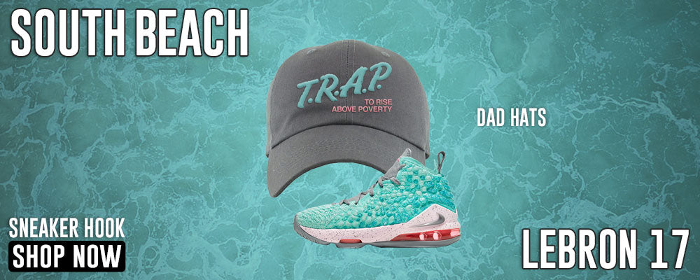 LeBron 17 'South Beach' Dad Hats to match Sneakers | Hats to match Nike LeBron 17 'South Beach' Shoes