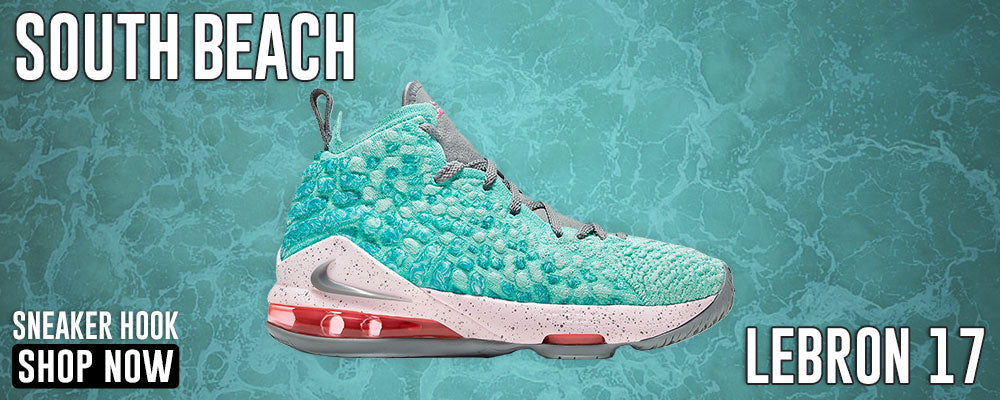 LeBron 17 'South Beach' Clothing to match Sneakers | Clothing to match Nike LeBron 17 'South Beach' Shoes