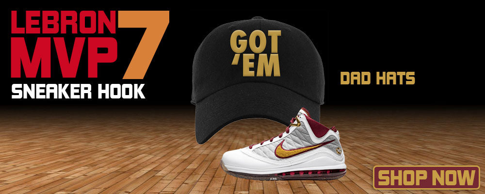 LeBron 7 MVP Dad Hats to match Sneakers | Hats to match Nike LeBron 7 MVP Shoes