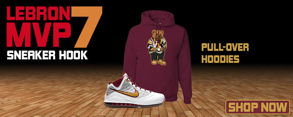 LeBron 7 MVP Pullover Hoodies to match Sneakers | Hoodies to match Nike LeBron 7 MVP Shoes