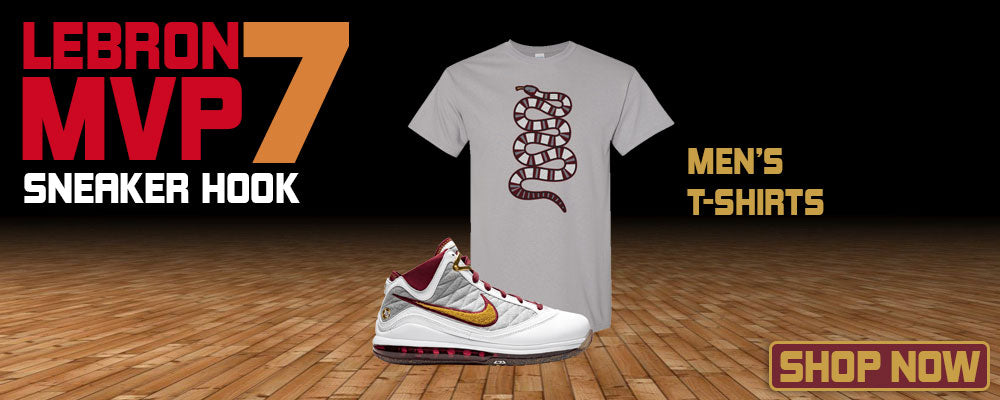LeBron 7 MVP T Shirts to match Sneakers | Tees to match Nike LeBron 7 MVP Shoes