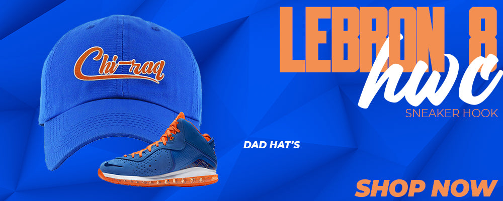 LeBron 8 HWC Dad Hats to match Sneakers | Hats to match Nike LeBron 8 HWC Shoes