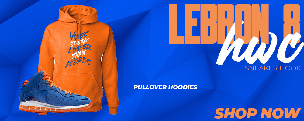 LeBron 8 HWC Pullover Hoodies to match Sneakers | Hoodies to match Nike LeBron 8 HWC Shoes