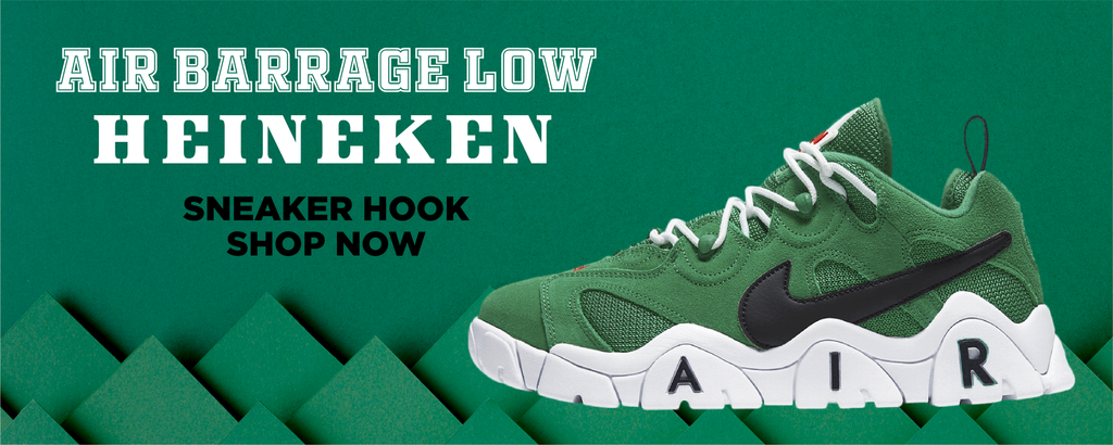 Air Barrage Low Heineken Clothing to match Sneakers | Clothing to match Nike Air Barrage Low Heineken Shoes
