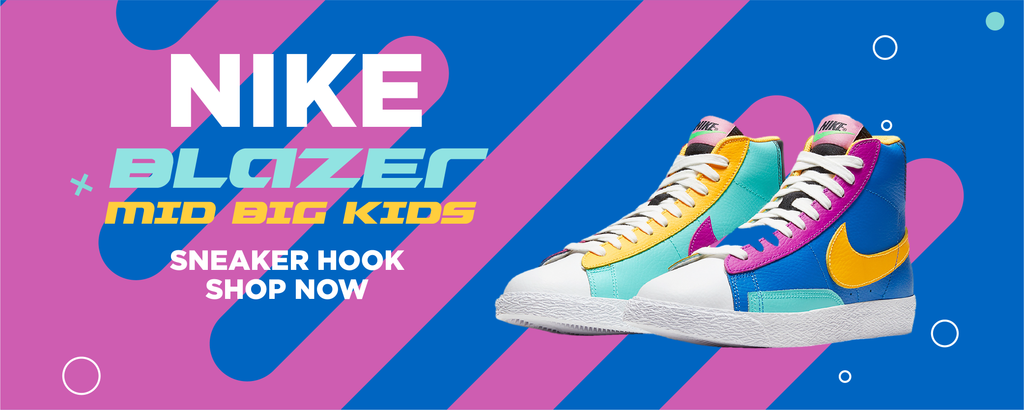 Blazer Mid Big Kids Clothing to match Sneakers | Clothing to match Nike Blazer Mid Big Kids Shoes