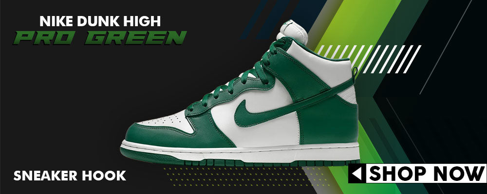 Dunk High Pro Green Clothing to match Sneakers | Clothing to match Nike Dunk High Pro Green Shoes