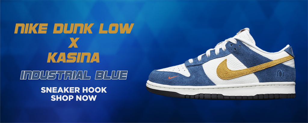 Dunk Low Industrial Blue x Kasina Clothing to match Sneakers | Clothing to match Nike Dunk Low Industrial Blue x Kasina Shoes