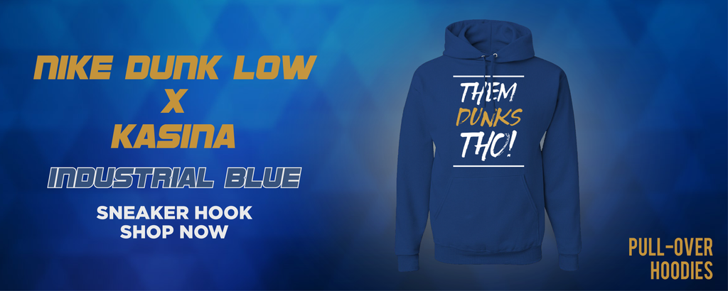 Dunk Low Industrial Blue x Kasina Pullover Hoodies to match Sneakers | Hoodies to match Nike Dunk Low Industrial Blue x Kasina Shoes