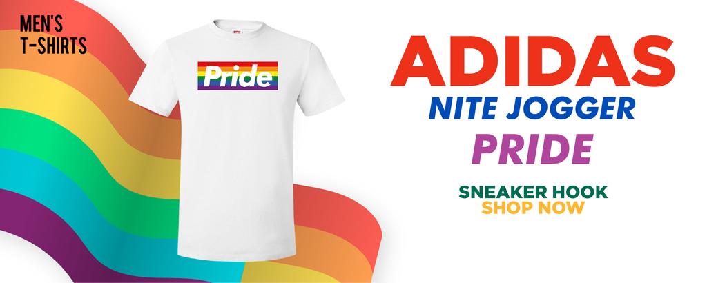 Adidas Nite Jogger 'Pride' T Shirts to match Sneakers | Tees to match Nike Adidas Nite Jogger 'Pride' Shoes