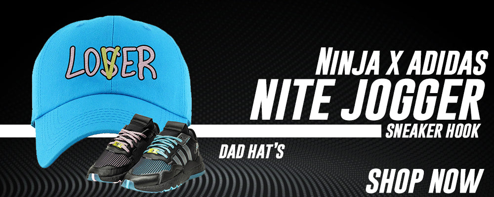Ninja x Nite Jogger Dad Hats to match Sneakers | Hats to match Ninja x Adidas Nite Jogger Shoes