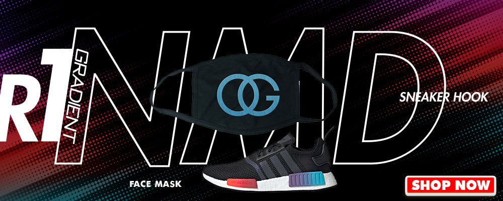 NMD R1 Gradient Face Mask to match Sneakers | Masks to match Adidas NMD R1 Gradient Shoes