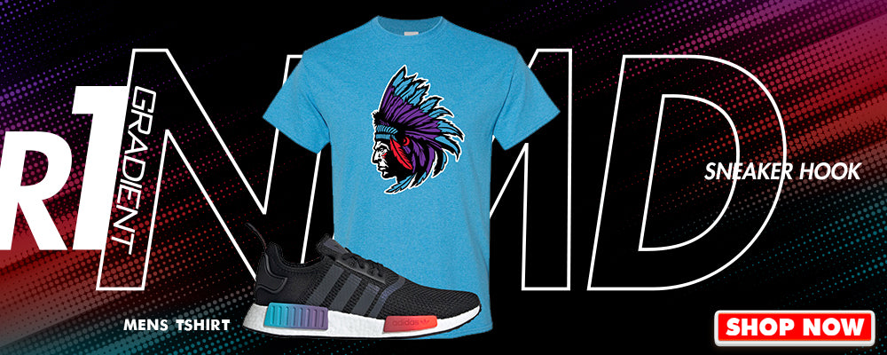 NMD R1 Gradient T Shirts to match Sneakers | Tees to match Adidas NMD R1 Gradient Shoes