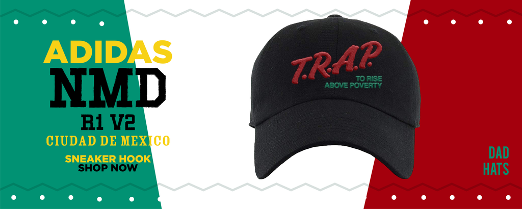 NMD R1 V2 Ciudad De Mexico Dad Hats to match Sneakers | Hats to match Adidas NMD R1 V2 Ciudad De Mexico Shoes